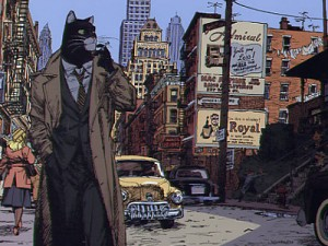 Affiche de Blacksad à New-York